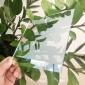 半透半反镜面镀膜玻璃非导电显示器触摸屏广告机镜面钢化玻璃