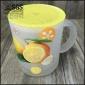 清新水果�N花玻璃杯 可�刍ㄟ�塑料�w玻璃水杯可�鄄AР璞�