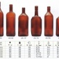 �S家直�N上海老酒瓶 茶色玻璃瓶 玻璃酒瓶 有色玻璃瓶 啤酒瓶