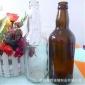 直�N500ml棕色啤酒瓶。白色透明玻璃啤酒瓶支持��佑�zhi
