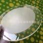 �S家定做 4mm 白色�z�W印刷�化玻璃 ��光��麸�玻璃 玻璃深加工
